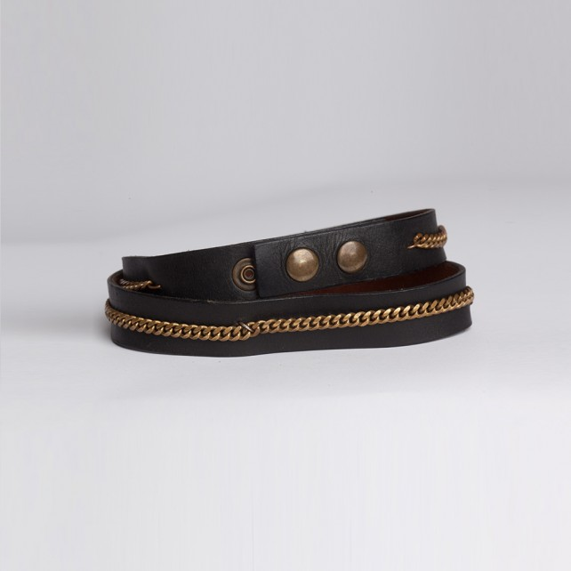 Braided Link Black