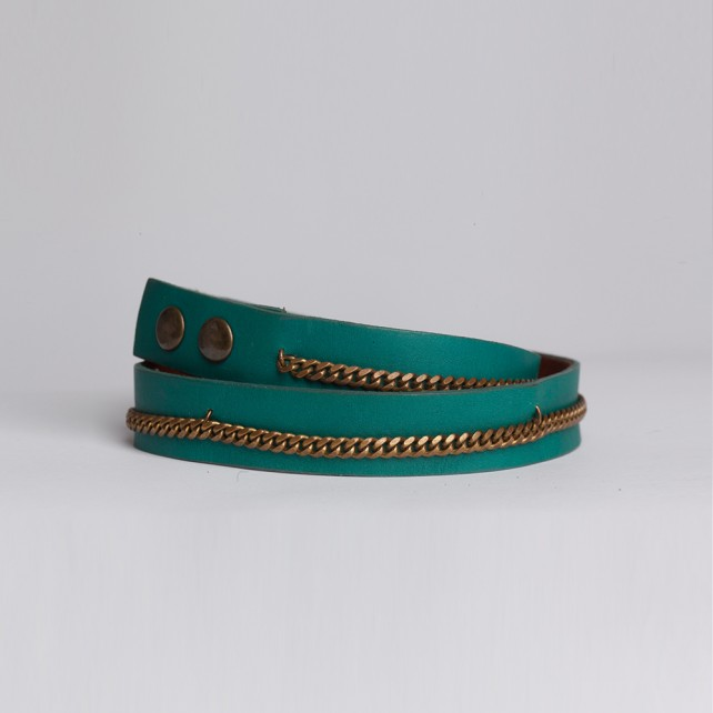 Braided Link Turq